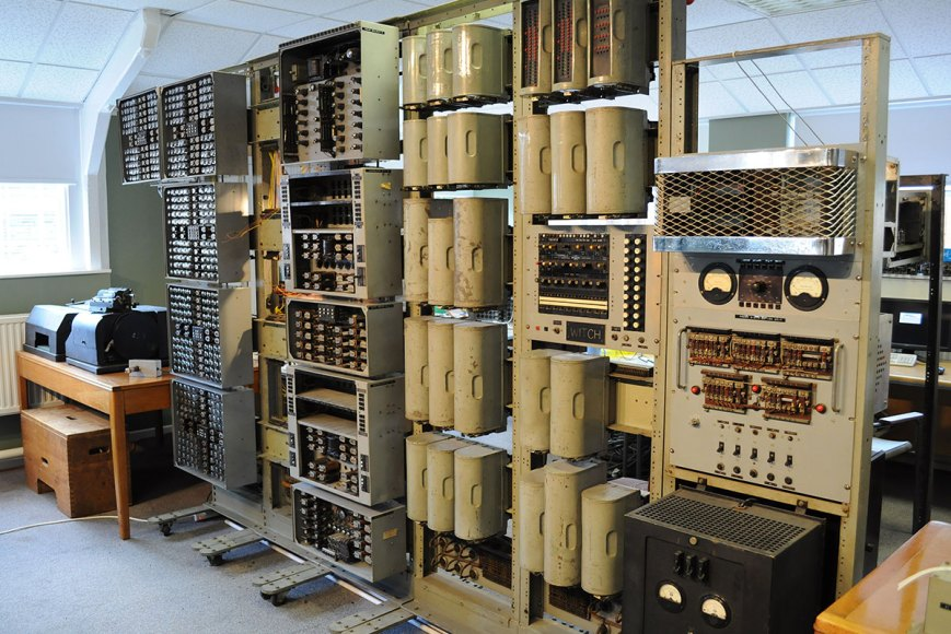 2.5 tonne, 1951 computer from Harwell